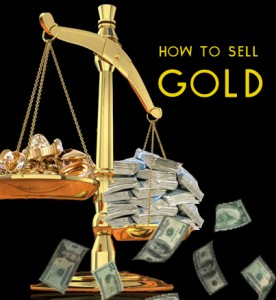 how to sell gold
